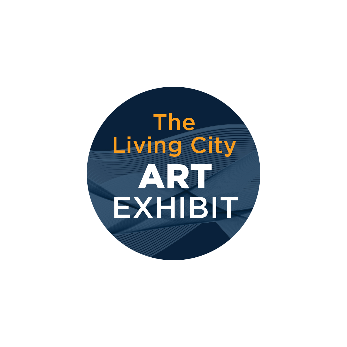Living City Art Exhibit button