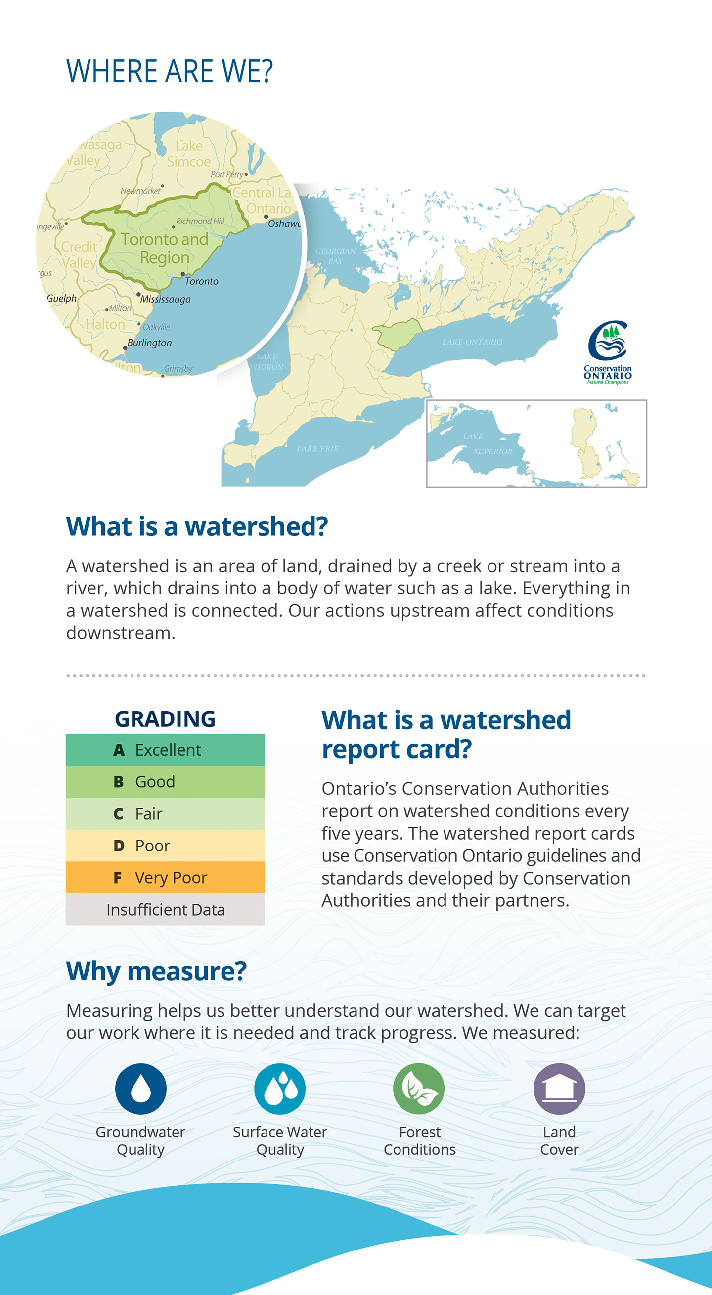 introductory panel of Petticoat Creek watershed report card