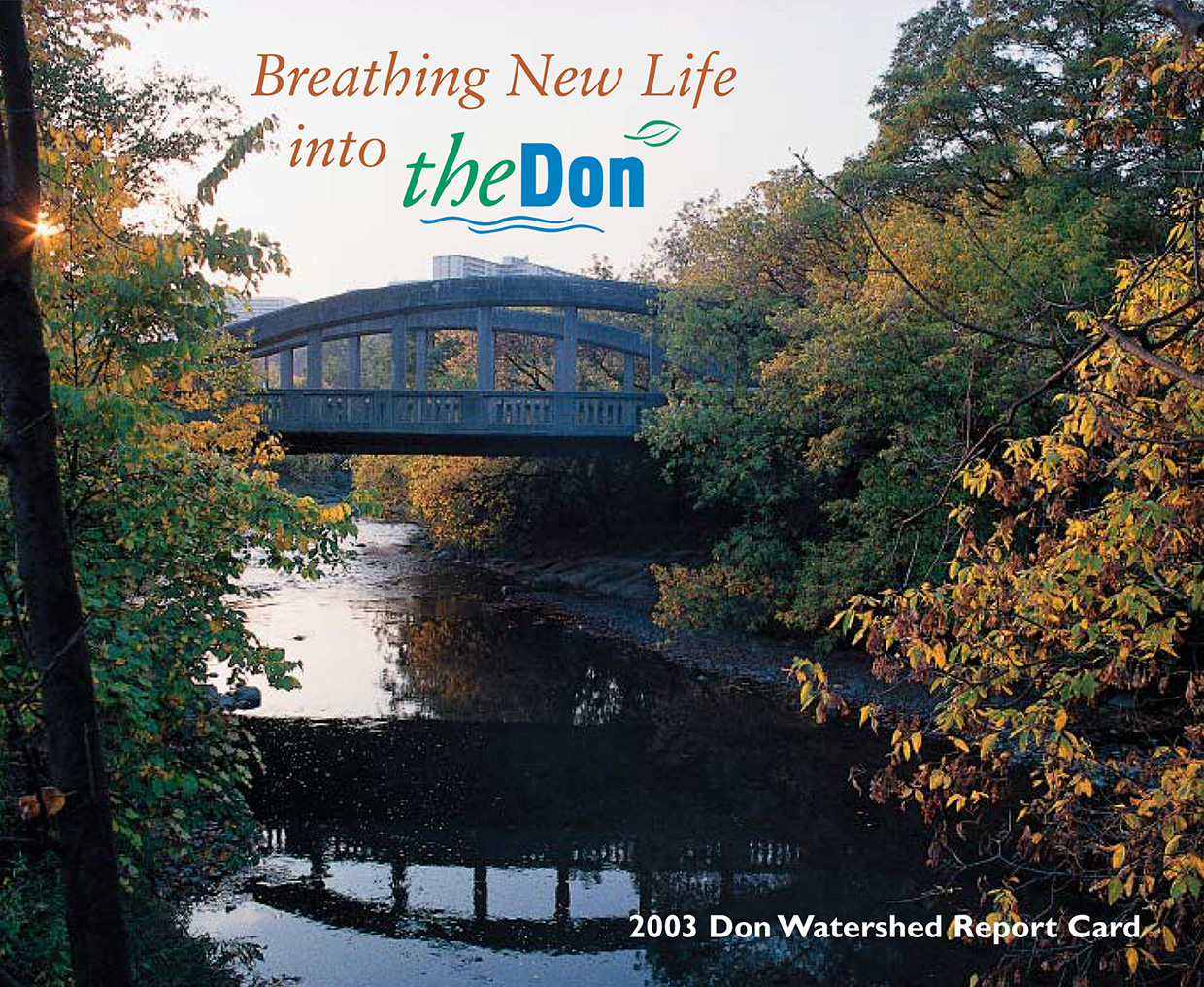 cover of 2003 Don River watershed report card