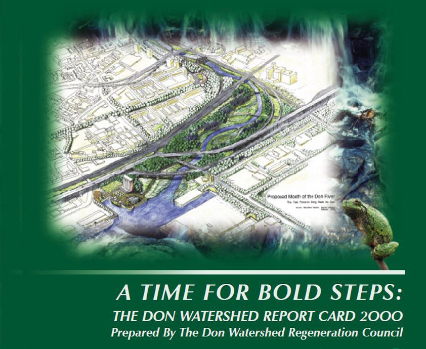 cover of 2000 Don River watershed report card