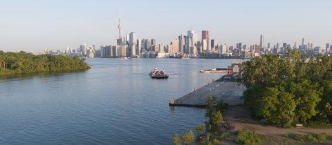 view of Toronto skyline