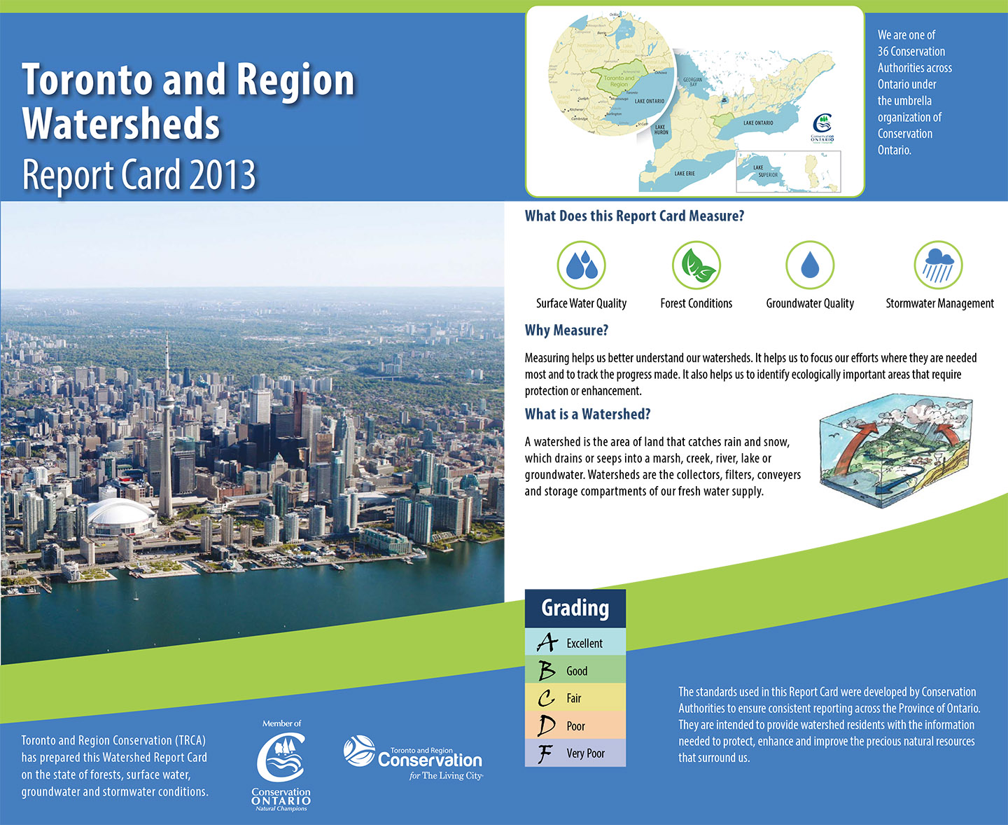 cover of TRCA 2013 jurisdiction report card